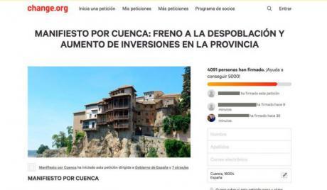 'Cuenca, En Marcha!' llevará al Pleno el Manifiesto Por Cuenca contra la despoblación