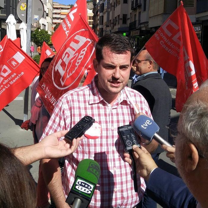 Jose Azcoitia, actual secretario general del sindicato UGT en Cuenca