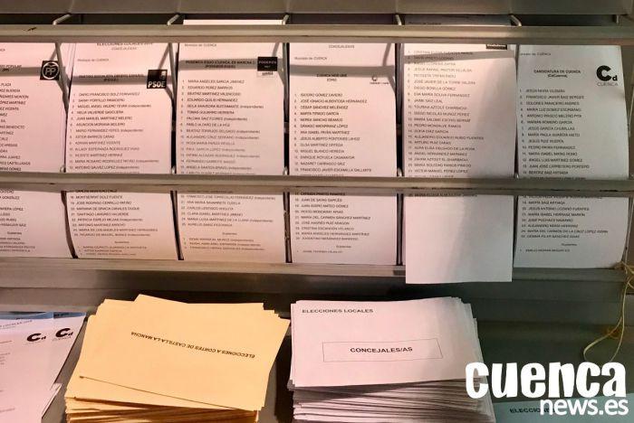 Las afiliaciones a los partidos mayoritarios en Cuenca, tras el 10-N
