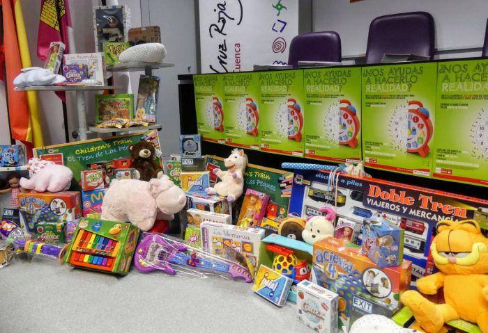 Cruz Roja necesita juguetes nuevos para 400 niños