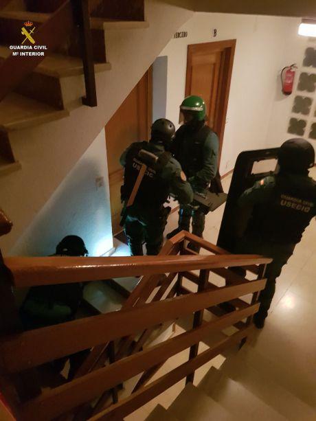 La Guardia Civil desarticula un grupo criminal dedicado a la de venta de droga en Tarancón y su comarca