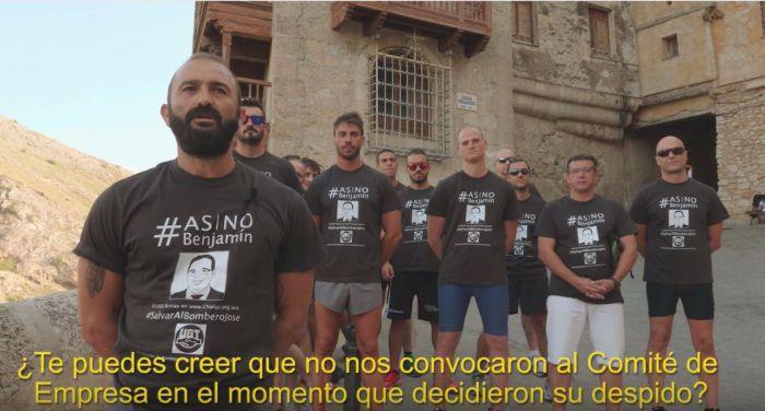 Sobreseída la demanda contra los Bomberos de la Diputación por la campaña 'Así no, Benjamín'