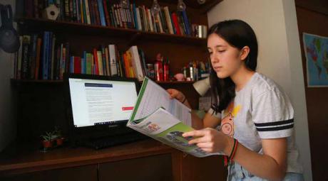 Huete ofrece refuerzo escolar por videollamada a alumnos municipio