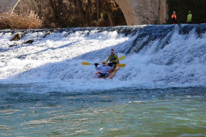 La VII San Silvestre en Piragua se suspende debido a las malas condiciones del río