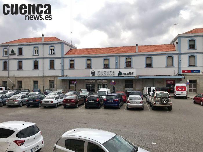 Estación central de Cuenca – Imagen de archivo