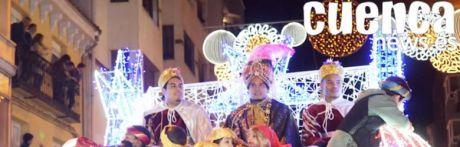 Cuenca se llena de ilusión con la llegada de los Reyes Magos