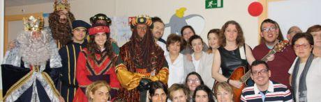 Los Reyes Magos no han faltado a su cita con los niños ingresados en la planta de Pediatría del Hospital Virgen de la Luz de Cuenca