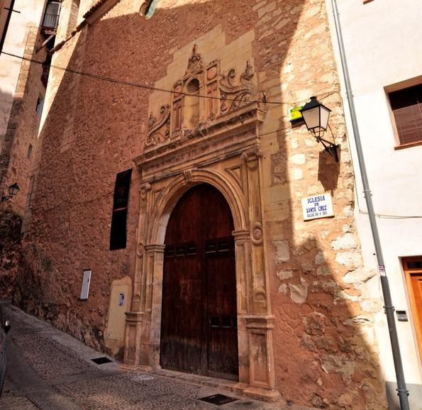 Antigua iglesia de Santa Cruz