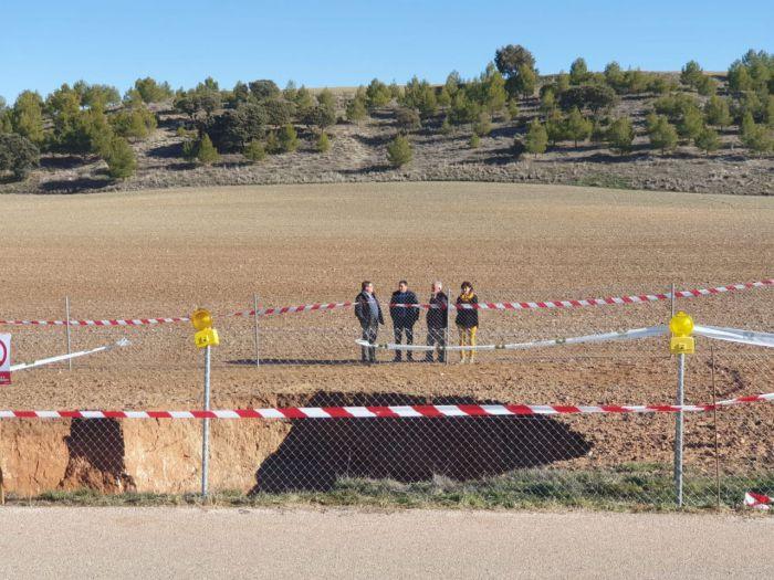 Los técnicos del Instituto Geológico y Minero visitarán la dolina de Arcas y Villar de Olalla