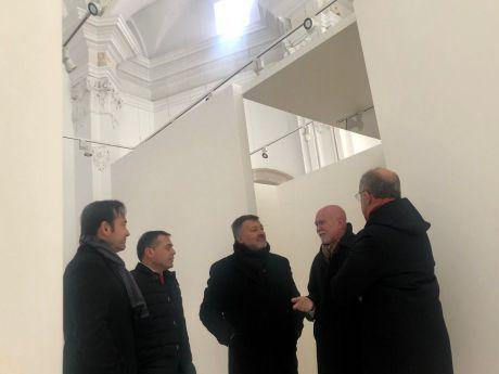 La Colección Roberto Polo inaugurará en octubre una sede temporal en la antigua iglesia de Santa Cruz