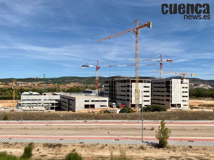 Obras del futuro Hospital Universitario de Cuenca