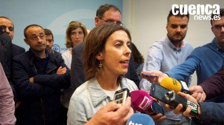 """Luz Moya: """"Llevaremos a pleno una moción para que el PSOE rompa el pacto con quien quiere fracturar España"""""""