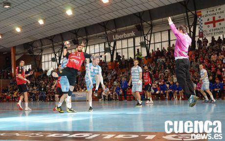 La televisión autonomica emitirá en directo todos los partidos de balonmano del Liberbank Cuenca en competición europea