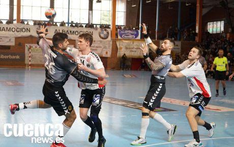 El Liberbank Cuenca se supera a sí mismo logrando una épica victoria ante el Holstebro (29-27)