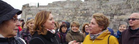 La Junta asegura que la gestión de Segóbriga es un ejemplo de colaboración en materia de Patrimonio entre instituciones