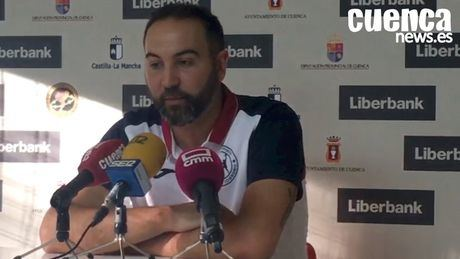 En imagen Miguel Ángel Velasco, entrenador del Logroño La Rioja