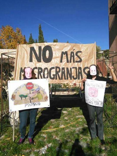 Vecinos de La Peraleja rechazan la instalación de una macrogranja porcina