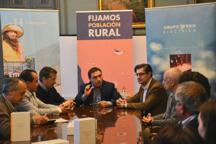Red Eléctrica, AlmaNatura y la Diputación lanzan en Cuenca 'Holapueblo', una iniciativa de emprendimiento rural