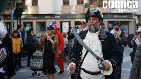 GALERÍA | Las mejores imágenes del desfile de disfraces de Cuenca