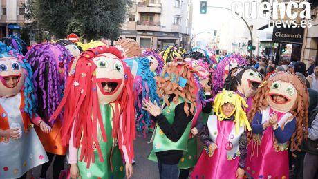 VÍDEO | Alegría, color y fiesta en el Carnaval de la capital