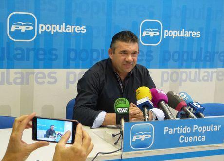 José María Saiz, alcalde de Villar de Cañas
