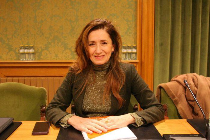 Cristina Fuentes, portavoz del Grupo Municipal Ciudadanos