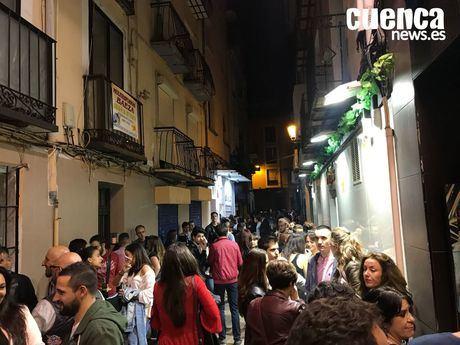 Discotecas y pubs de la zona nocturna de Cuenca cierran hasta nuevo aviso