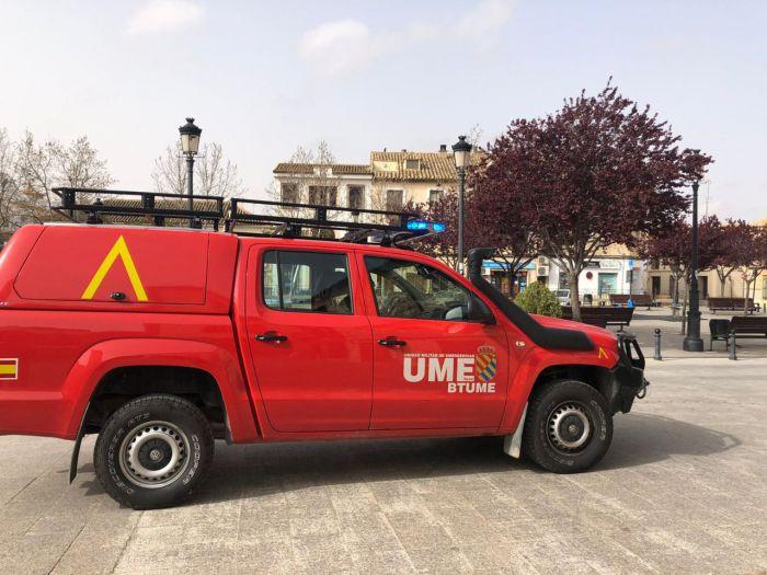 La UME se despliega este jueves en siete municipios de la región