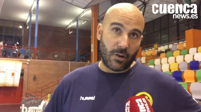 Lidio Jiménez , entrenador del Liberbank Cuenca
