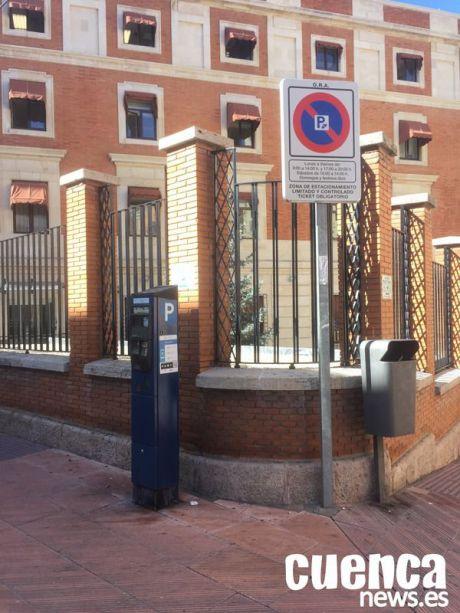 Se suspende la zona azul en Cuenca durante el estado de alarma