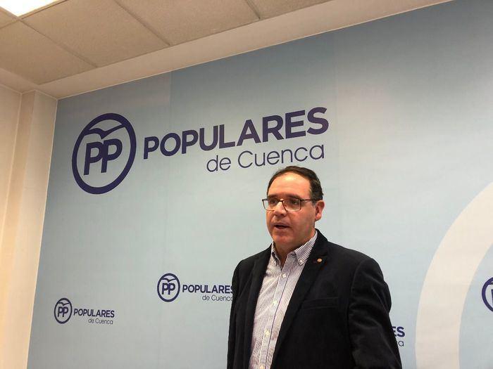 En imagen Benjamín Prieto, presidente del PP de Cuenca