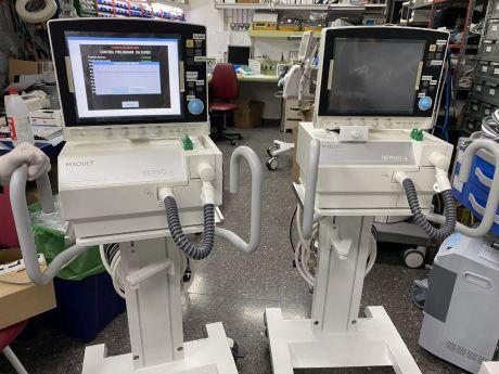 Los hospitales de Castilla-La Mancha cuentan con un total de 390 respiradores para atender las necesidades de los pacientes