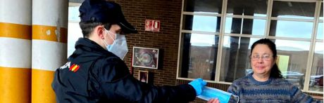 Comienza el reparto de mascarillas en Cuenca