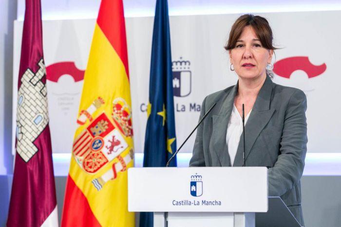 Blanca Fernández, consejera de Igualdad y Portavoz del Gobierno regional