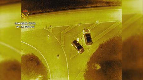 La Guardia Civil continúa realizando controles diariamente por tierra y aire