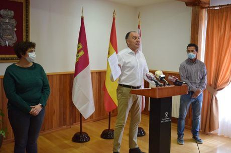 José Manuel López Carrizo en rueda de prensa este viernes