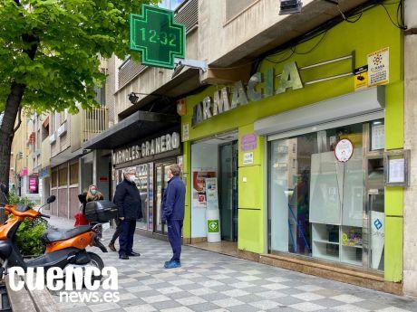 Los farmacéuticos de Cuenca garantizan el suministro de mascarillas