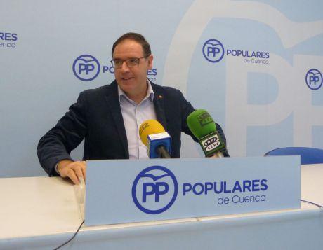 """Prieto: """"Es lamentable que Page venga a Cuenca a respaldar a Pedro Sánchez y no a defender a nuestros empresarios"""""""