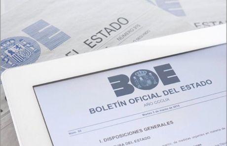 El BOE publica la prórroga del estado de alarma hasta el 7 de junio