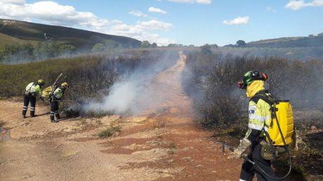 El Índice de Propagación de Incendios es alto en parte de la provincia