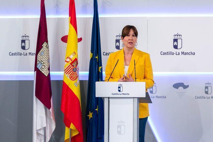 Imagen de archivo |  La consejera de Igualdad y portavoz del Gobierno regional, Blanca Fernández