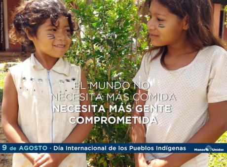 Manos Unidas Cuenca trabaja junto a los indígenas en la reclamación por su derecho a la tierra y el respeto a su identidad