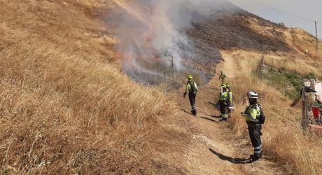 Detectado un incendio agrícola en Barajas de Melo