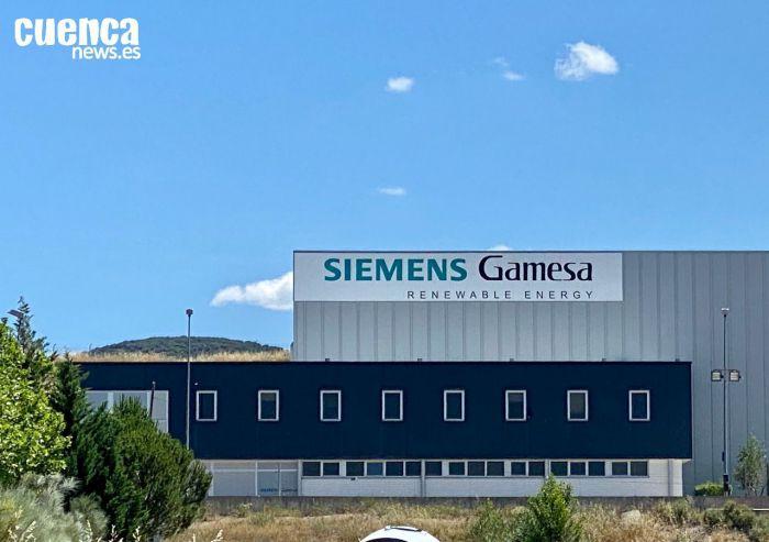 Factoría Siemens Gamesa en Cuenca