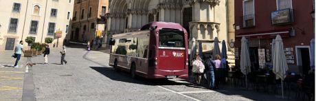 Se pondrán en marcha autobuses lanzadera al Casco los fines de semana de julio y agosto