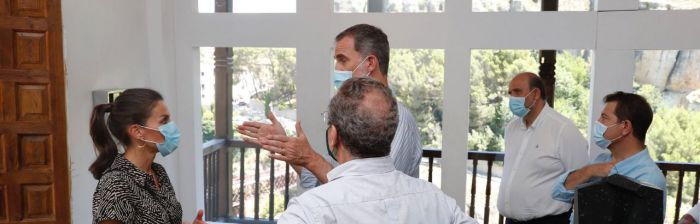 Los reyes promueven Cuenca y la acción social para personas con discapacidad en su visita a la capital