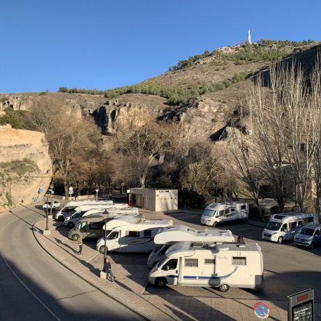 Crece el turismo sobre ruedas en Cuenca, donde proliferan las autocaravanas