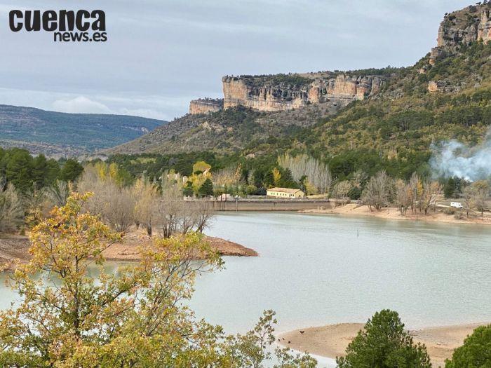 Embalse de La Toba, ubicado en Uña (Cuenca)