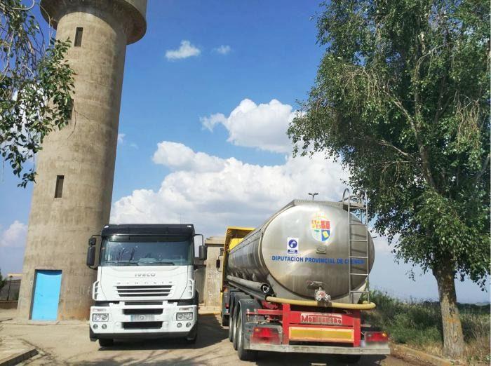 Camiones cisterna de la Diputación de Cuenca
