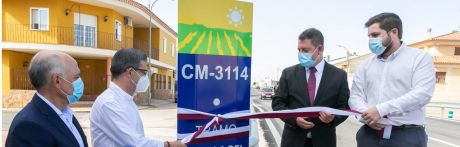 Concluyen las obras de mejora de la carretera CM-3114 entre la antigua N-III y la autovía A-3